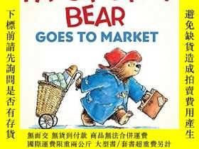 二手書博民逛書店Paddington罕見Bear Goes To Market Board BookY255562 Micha