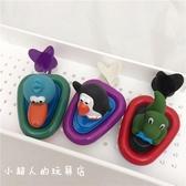 兒童洗澡沐浴玩具嬰兒寶寶可愛動物拉繩發條小船【聚寶屋】