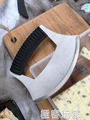 雪花酥不銹鋼弧形彎刀切刀 牛軋糖牛扎糖專用切刀多功能刀 極客玩家
