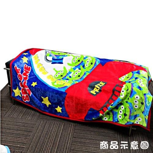 DISNEY 玩具總動員成人用單人毛毯L(三眼怪夾娃娃機)★funbox★丸真_RS65850