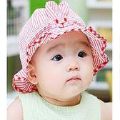嬰兒帽子夏季遮陽帽0-3-6個月男童公主薄款太陽帽女寶寶盆帽春秋【萬聖節88折