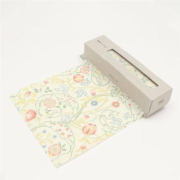 mt WRAP(迷你尺寸) ・William Morris Mary Isobel mt和紙自黏包裝