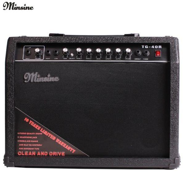 40W電吉他音箱40瓦電箱木吉他吉它音箱音響三道輸入 NMS 小明同學