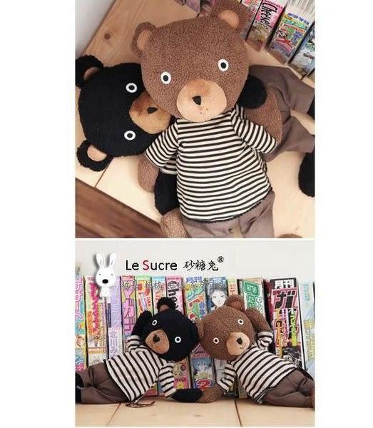 【發現。好貨】日本正品防偽標籤 le sucre 砂糖熊 砂糖兔娃娃  35公分 娃娃