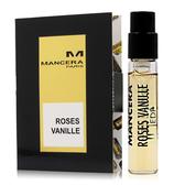 MANCERA 曼斯拉 Roses Vanille玫瑰香草淡香精 2ml [QEM-girl]
