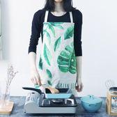 日式加厚居家廚房高擋布藝圍裙PLL4480【男人與流行】