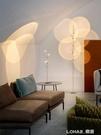 極簡創意LED光影落地燈客廳沙發燈意大利藝術背影牆設計師落地燈 樂活生活館