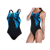 SPEEDO Freeze Frost Digital PB女競技連身泳裝(游泳 免運 ≡排汗專家≡