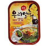 韓國芝麻葉罐頭-辣味(70g) 韓國原裝進口