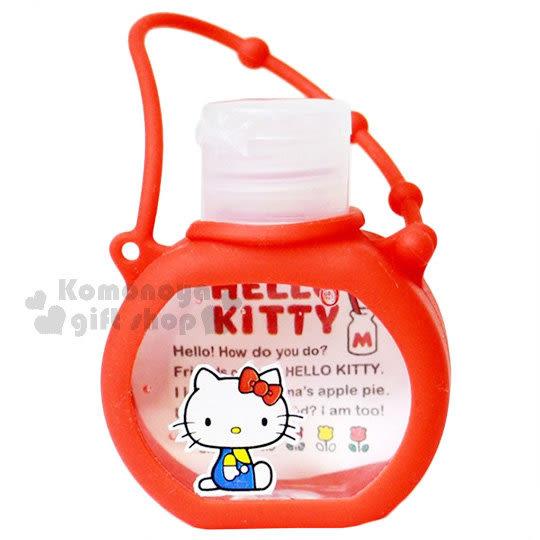 〔小禮堂〕Hello Kitty 乾洗手凝露《紅.側坐.鬱金香.37ml》 4525636-22985