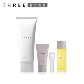 THREE 肌能洗顏皂霜買1送3組