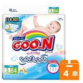 大王GOO.N 黏貼型紙尿褲-境內版 S (84片)x4串/箱