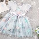 夢幻公主-電繡色彩星星網紗洋裝。小禮服(290042)【水娃娃時尚童裝】
