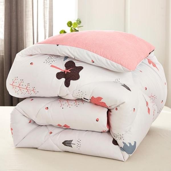 冬被 被子冬被芯加厚保暖絲綿被四季通用鋪被褥6全棉10斤8雙人1.5x2米3-Ballet朵朵