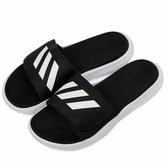 Adidas ALPHABOUNCE SLIDE 男款黑色涼拖鞋-NO.BA8775