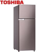 24期0利率 TOSHIBA 東芝 GR-A320TBZ(N) 香檳金 305公升 雙門變頻冰箱