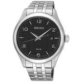 SEIKO 太陽能紳士線條時尚腕錶/SNE489P1/V157-0CN0D