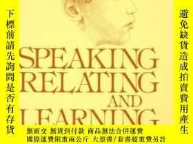 二手書博民逛書店Speaking罕見Relating And Learning: A Study Of Hawaiian Chil