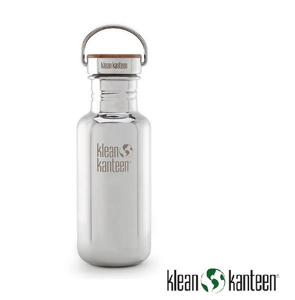 Klean Kanteen  Reflect特別版-竹片鋼蓋 不鏽鋼瓶 18oz/800ml  鏡面鋼 K18SSLRF / 保溫瓶