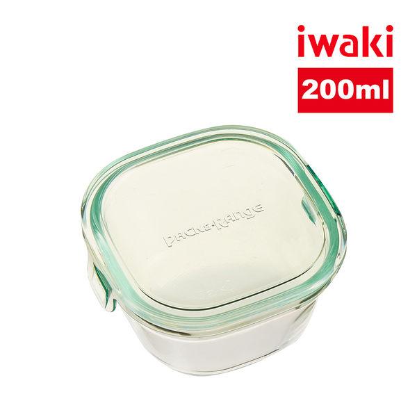 【iwaki】日本品牌耐熱玻璃微波盒1.2L(綠)
