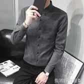 長袖襯衫超火的襯衫男長袖秋季新品韓版青年潮流休閒百搭 貝芙莉