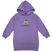 『小鱷魚童裝』Q版酪梨印花連帽洋裝(02號~10號)558383