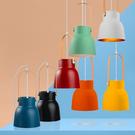 18PARK 研提吊燈-19cm(橘)含LED-10W黃光燈泡-生活工場