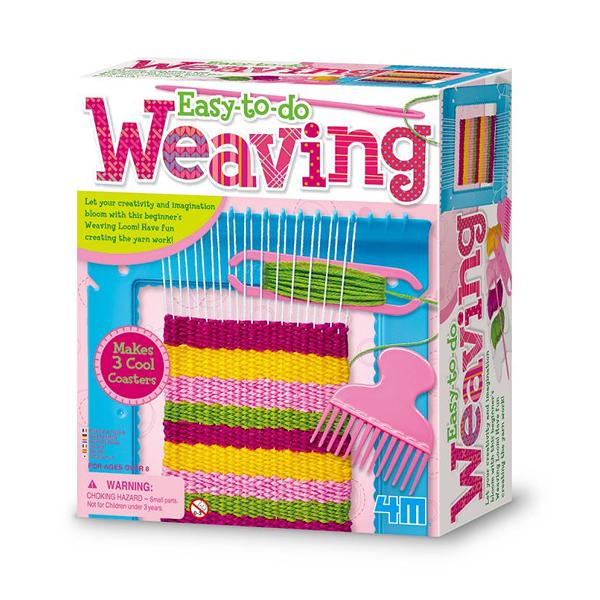 【4M】02744 美勞創作-創意編織機 Weaving Loom
