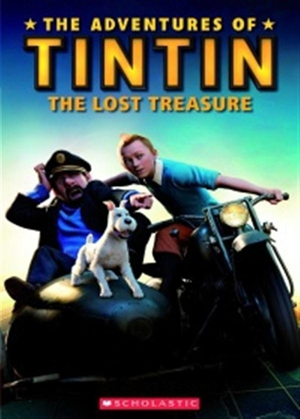 (二手書)Scholastic Popcorn Readers Level 3: Tintin The Lost Treasure wit..