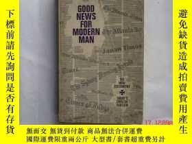 二手書博民逛書店GOOD罕見NEWS FOR MODERN MANY14328