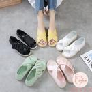 果凍鞋涼鞋女新款夏季百搭舒適軟平底涼拖鞋【大碼百分百】
