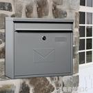 固盾MAILBOX信箱大號歐式別墅郵箱室外掛墻防雨防水快遞信報箱YTL