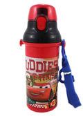 【卡漫城】 Cars 彈跳式 480cc 水壺 ㊣版 旅行杯 日本製 附背帶 烘碗機可 易清洗 閃電麥坤 拖線 賽車