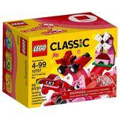 樂高積木LEGO《 LT10707》2017年Classic 經典基本顆粒系列 - 紅色創意盒╭★ JOYBUS玩具百貨