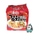 韓國不倒翁泡菜風味拉麵 5包入 韓國泡麵