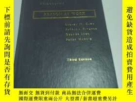 二手書博民逛書店REASON罕見AT WORK(外文)Y200392