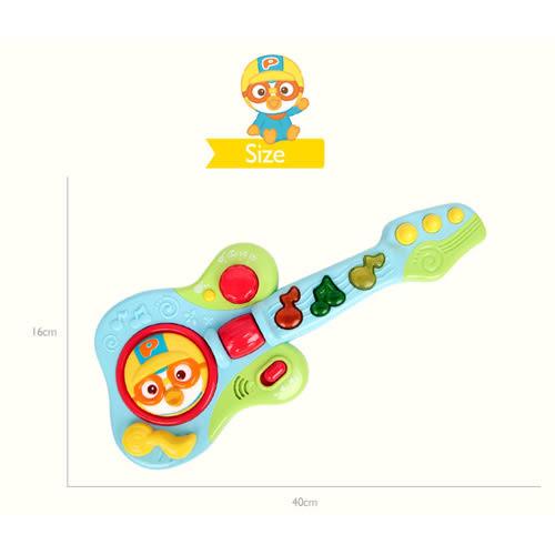 特價 Pororo快樂小企鵝 小小電子吉他_RR44856
