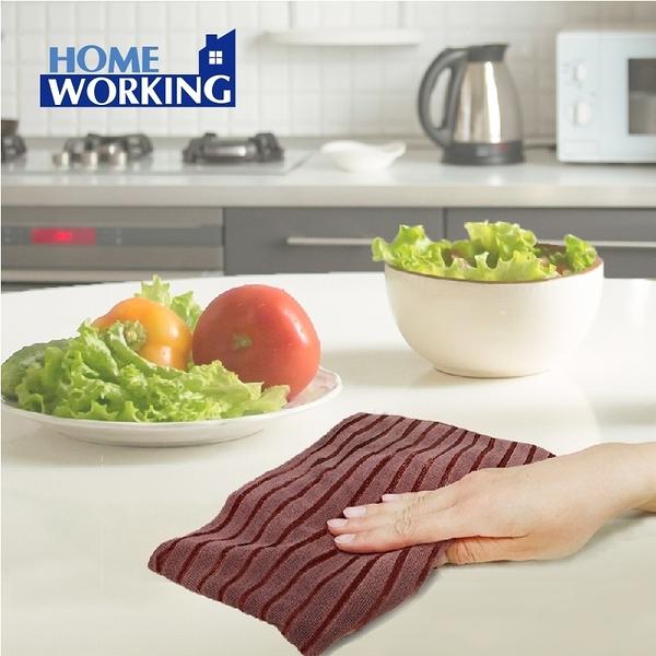特效除污雙織抹布(3入)【買六送一】-HOME WORKING