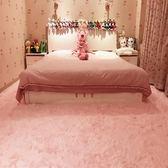 客廳家用絲毛小地毯臥室床邊長方形沙發地墊可房間滿鋪大地毯 NMS