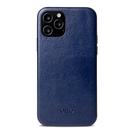 Alto iPhone 12 / 12 Pro 通用款 真皮手機殼背蓋 6.1吋 Original 360 - 海軍藍【可加購客製雷雕】皮革保護套