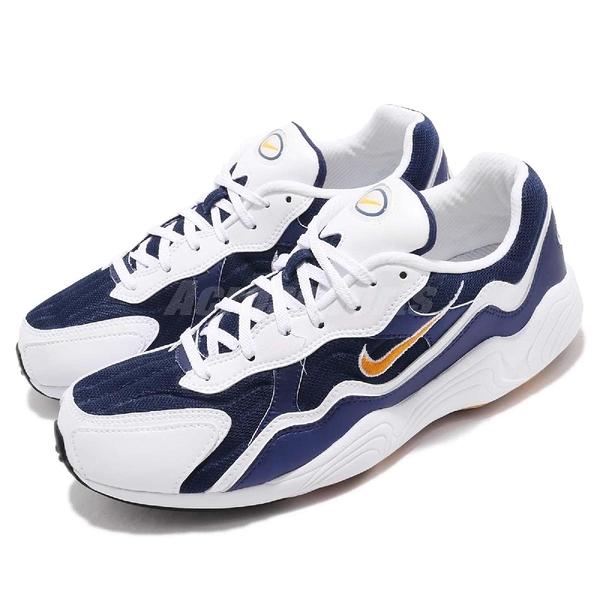 Nike 復古慢跑鞋 Air Zoom Alpha 藍 黑 經典復刻 氣墊設計 休閒鞋 男款 運動鞋【PUMP306】 BQ8800-400