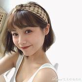 夏日女孩奶茶棕子寬邊發帶氣質復古英倫發飾發箍韓國艾美時尚衣櫥