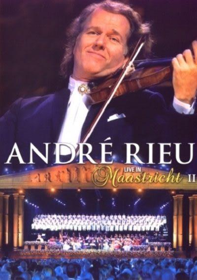 安德烈瑞歐 馬斯垂特現場 第二輯 DVD Andre Rieu / Live in Maastricht 2  (音樂影片購)