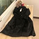 韓版百搭基本款修身長版大衣風衣(S號/121-3353)