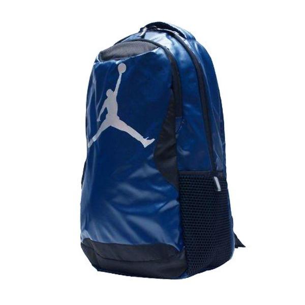 Nike Training Day [1807-U90] 男 後背包 書包 減壓 背帶 運動 休閒 輕量 喬丹 藍黑