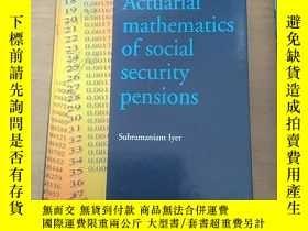 二手書博民逛書店actuarial罕見mathematics of social security pensions 外文原版 精