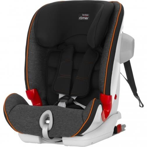 【愛吾兒】Britax ADVANSAFIX II SICT 百變旗艦型 ISO 成長型汽車安全座椅 黑灰