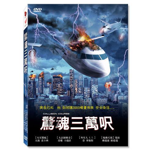 新動國際【驚魂三萬呎 DVD】COLLISION  COURSE