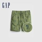 Gap男幼童 Gap x Disney 迪士尼系列印花短褲 681551-綠色