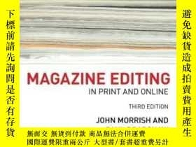 二手書博民逛書店Magazine罕見Editing: In Print And